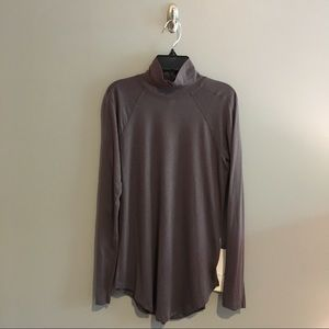 NWT Lululemon Locarno Turtleneck in Gray